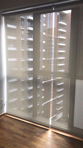 dim out roller blind